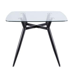 Carson Carrington Vikensved Mid-Century Modern Square Dining Table