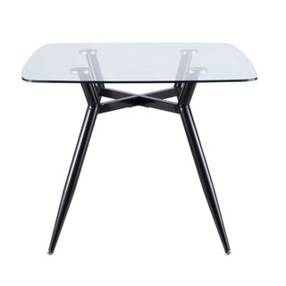 Clara Mid-Century Modern Square Dining Table