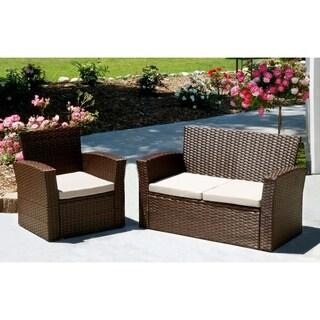 Prima 2 piece Outdoor Patio set -Single Chair, Sofa Chair