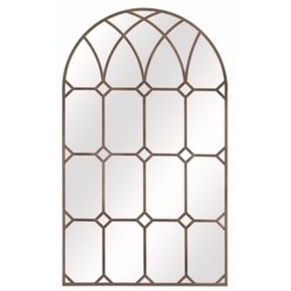 Cathedral Arched Mirror - Bronze