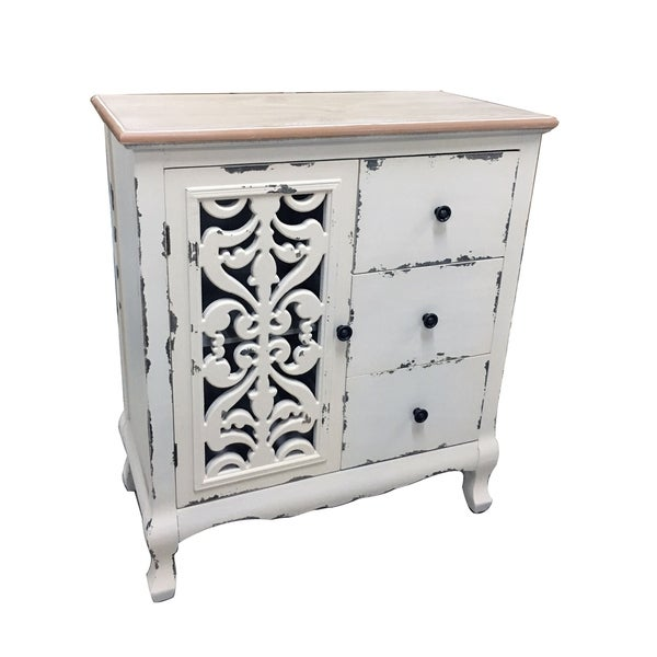 "Shop 31.1""H Wood Cabinet"