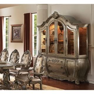 Link to Acme Ragenardus Hutch & Buffet in Vintage Oak Similar Items in Dining Room & Bar Furniture
