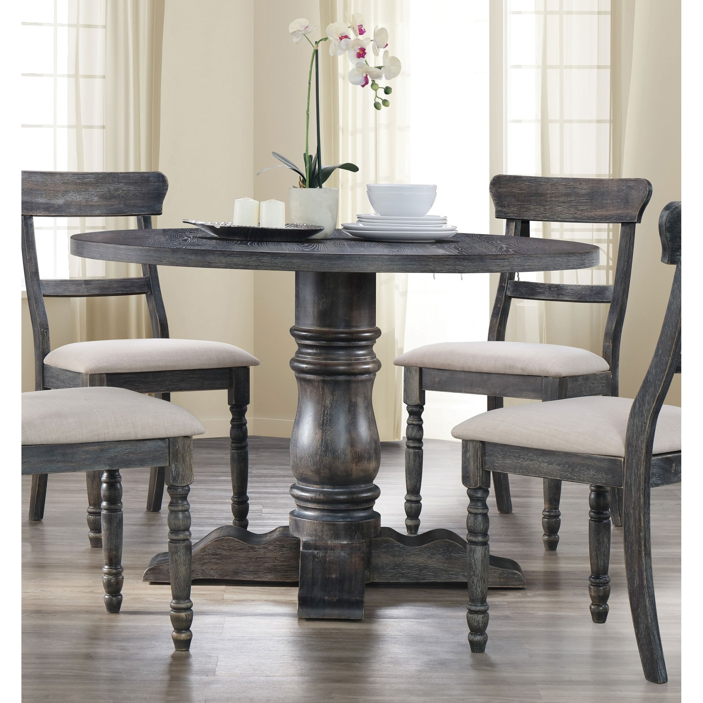 Acme Wallace Dining Table In