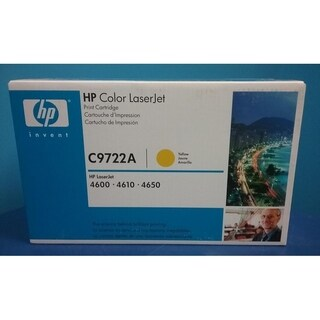 HP C9722A Original Yellow LASER TONER CARTRIDGE,White Box