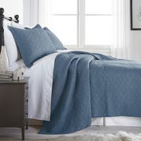 French Impression Element Pre-washed Cotton 3pc Quilt Set