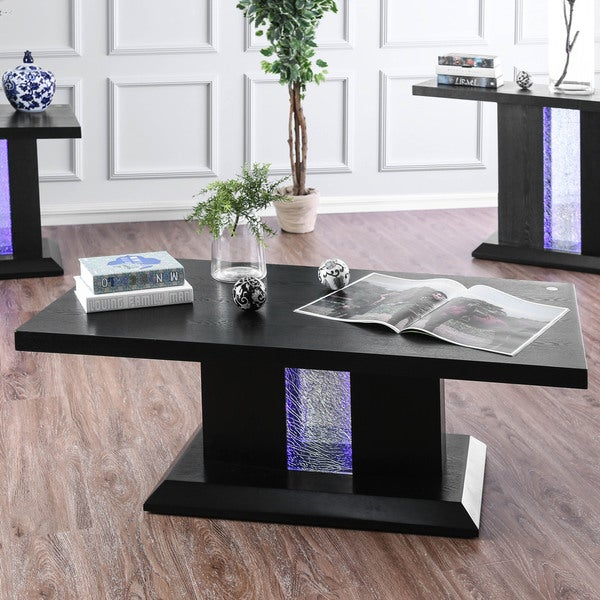 Edgy furniture Office Shop Furniture Of America Weston Contemporary Led Coffee Table On Sale Free Shipping Today Overstockcom 20853059 Overstock Shop Furniture Of America Weston Contemporary Led Coffee Table On