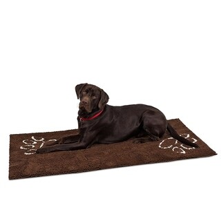 "Internet's Best Chenille Dog Doormat - 60 x 30"" - Absorbent Surface - Non-Skid Bottom - Protects Floors"