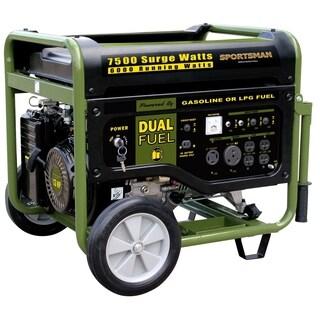 Offex 7500 Watt Dual Fuel Generator - Black