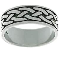 Sterling Silver Traditional Celtic Ring
