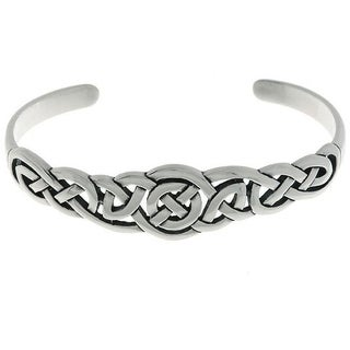 Sterling Silver Celtic Bangle Bracelet