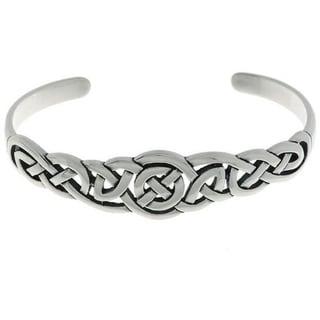 Sterling Silver Celtic Bangle Bracelet