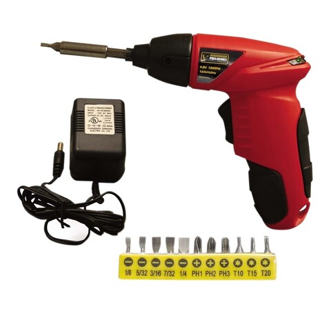 Offex 4.8 Volt Palm Drill - Red