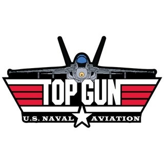 US Navy Aviation Top Gun Military Patch