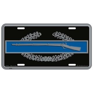 US Army CIB 1st Award Military License Plate