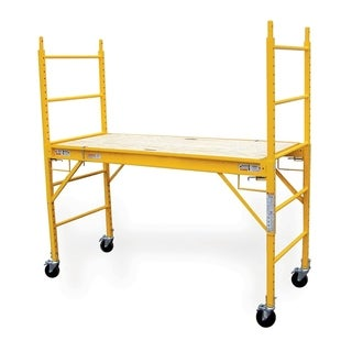 Offex 6-Foot Multipurpose Scaffolding - Yellow