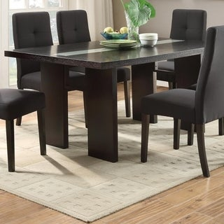 Sturdy Wooden Dining Table, Brown
