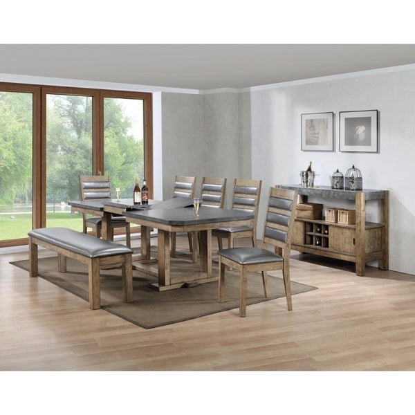 Superieur Multifunctional Wooden Dining Table In Grey And Brown