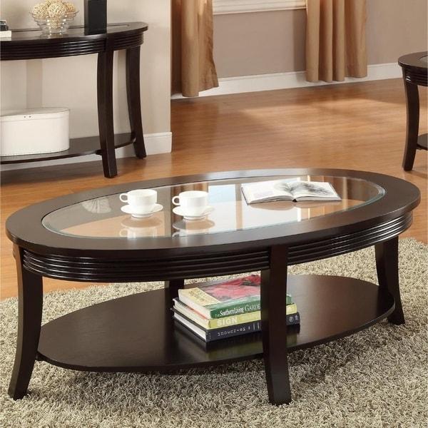 Charmant Beauty MEF, Birch Veneer U0026amp; Sundray Solid Wood Coffee Table, Espresso