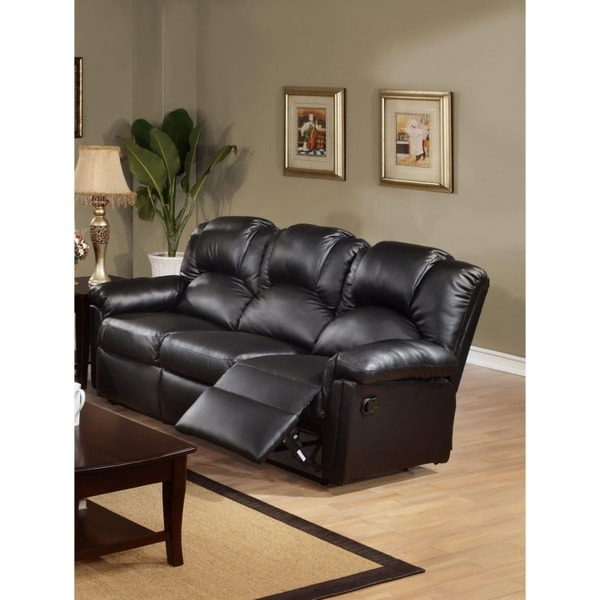 Cheap Recliner Sofas For Sale Black Leather Reclining: Shop Highly Plush Hardwood, Metal & Bonded Leather