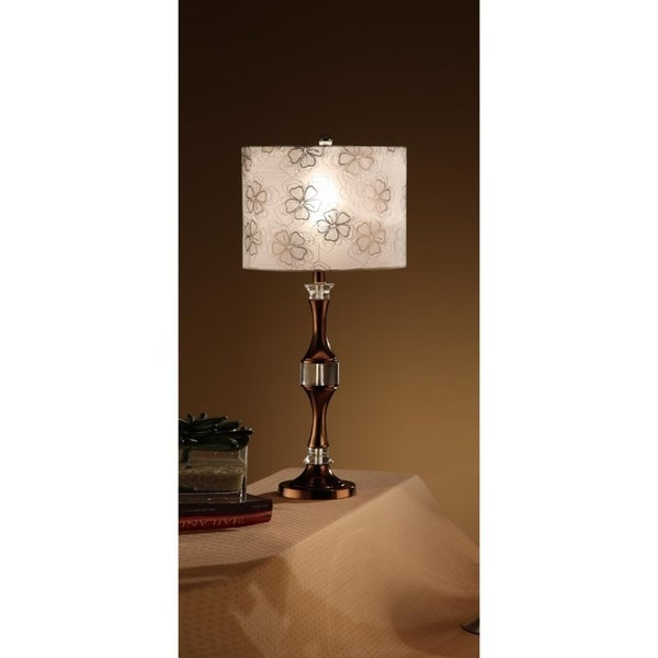 Contemporary Style Lamp Bronze Set Of 2