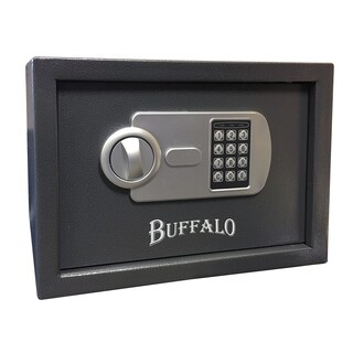 Offex Pistol Safe with Keypad Lock - Black