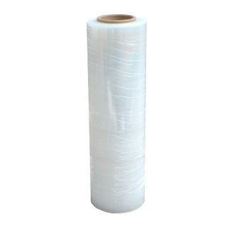 Offex Stretch Wrap Roll - 18 in.x 1500 ft - Gray
