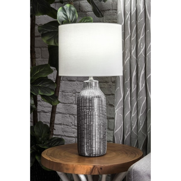 Watch Hill 26'' Ilene Ceramic Linen Shade Table Lamp