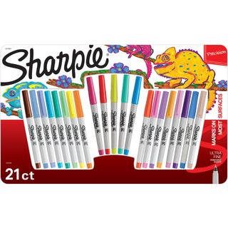 Sharpie Ultra Fine Point Permanent Marker Promo Pack 21/Pkg