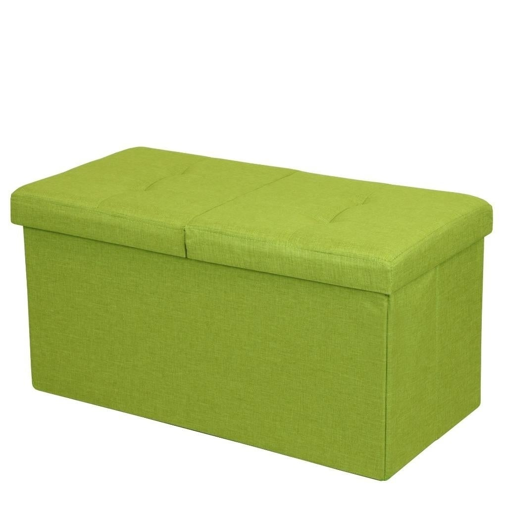 Fine Storage Ottoman Bench 30 Inch Smart Lift Top Lime Green Crown Comfort Ocoug Best Dining Table And Chair Ideas Images Ocougorg