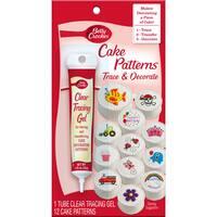 Betty Crocker Cake Patterns Trace & Decorate