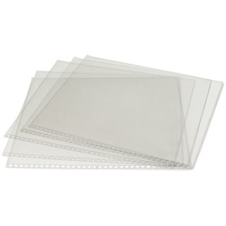 Clear Protective Sleeves 5/Pkg