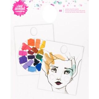 Jane Davenport Mixed Media 2 Mixing Palette Pad 50/Pkg