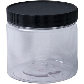 Jacquard Empty Wide Mouth Plastic Jar 16oz