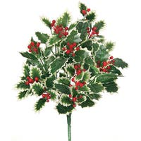 Waterproof Variegated Holly Bush 16""