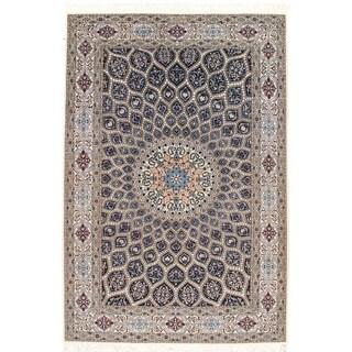 """Pasargad NY Nain Silk & Wool Rug - 5'1"""" x 7'7"""""""
