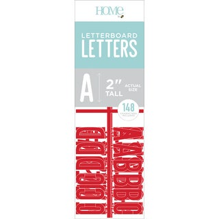 """DCWV Letterboard Letters & Characters 2"""" 148/Pkg"""