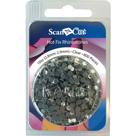 Brother ScanNCut 2.8mm-2.9mm Hot Fix Rhinestones 800pcs