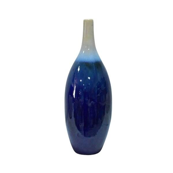 20 in. Three Hands Ceramic Vase