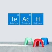 Teach Periodic Table Wall Decal - MEDIUM