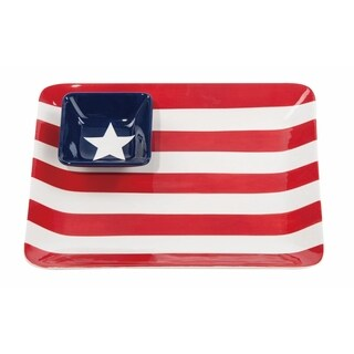Patriotic Flag Chip & Dip Set
