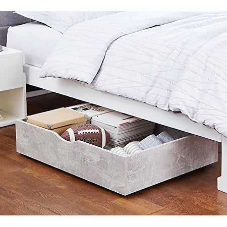 Shop The Storage Max Underbed Wooden Organizer With Wheels