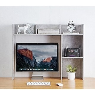 The Classic - Desk Bookshelf - Marble Gray