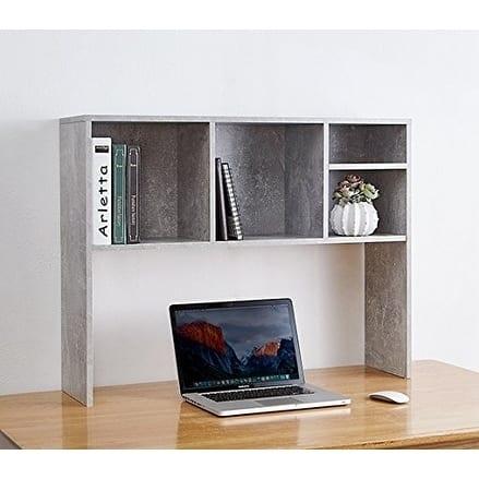 The Cube - Desk Bookshelf - Marble Gray