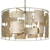 Crystorama Bronson Collection 6-light Oxidized Silver Chandelier