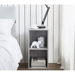 The Cube - Nightstand - Marble Gray