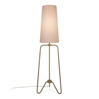 Bryan floor lamp in antique brass
