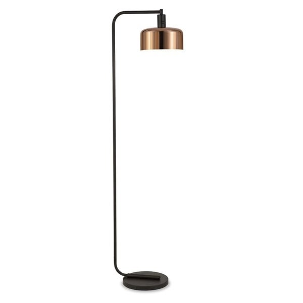 Cartwright floor lamp in copper