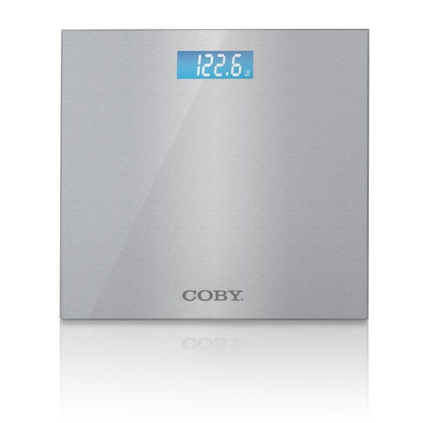Shop Coby Stainless Steel Digital Bathroom Scale Free