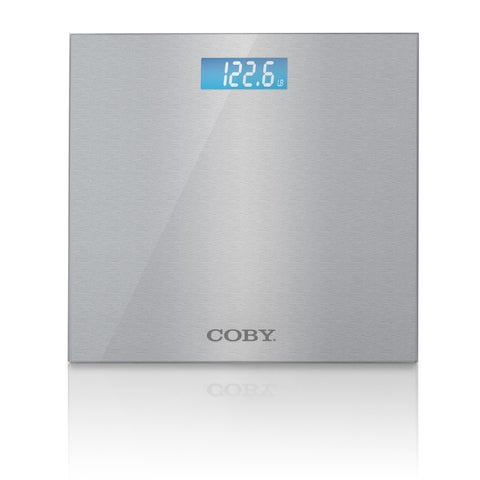 Coby Stainless Steel Digital Bathroom Scale