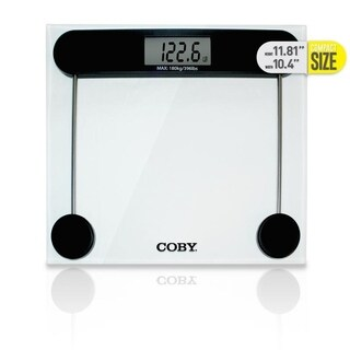 Coby Digital Glass Bathroom Scale